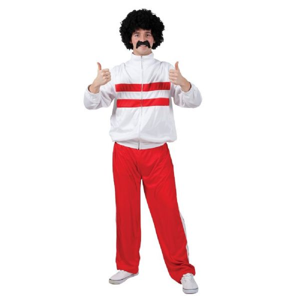 Adults 80's Funny Athlete Costume Mens Fancy Dress
